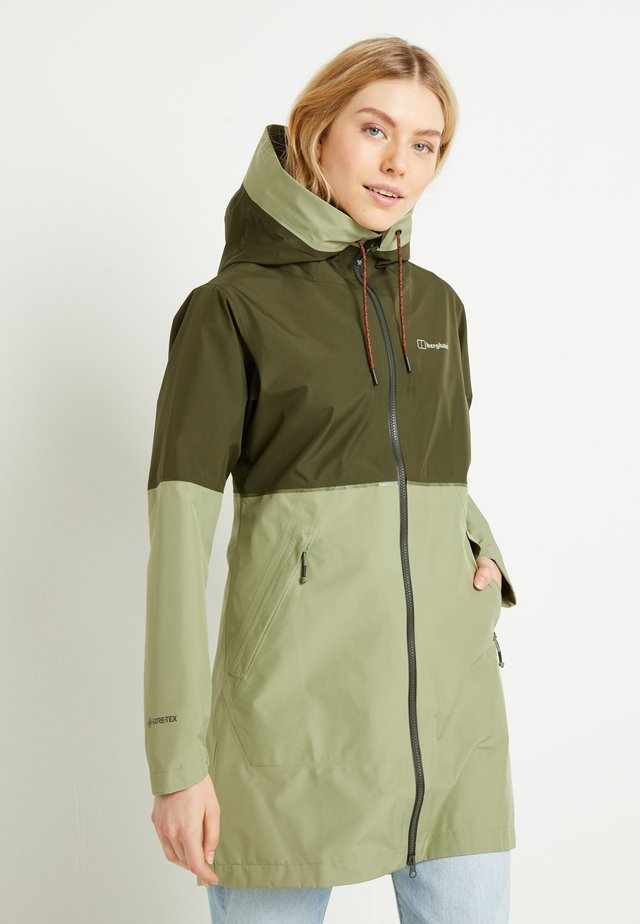 Soft shell jacket - green
