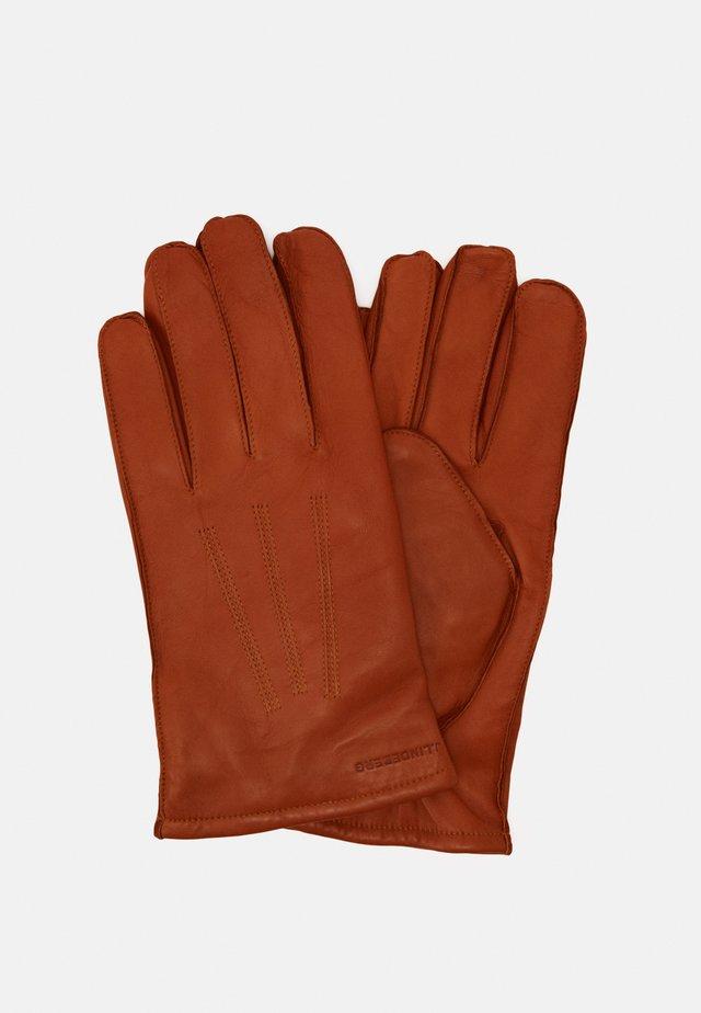 MILO GLOVE - Gloves - cognac