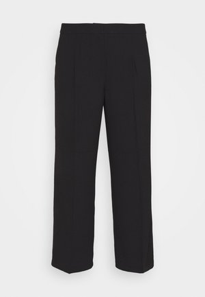 SLFDINNI WIDE PANT - Trousers - black