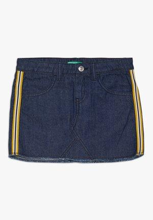 Mini skirt - dark blue