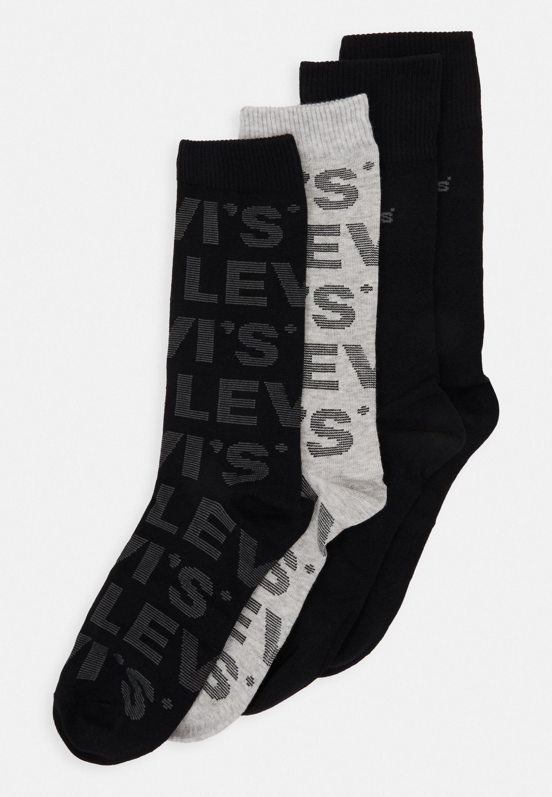 Men GIFTBOX REGULAR CUT LOGO 4 PACK - Socks