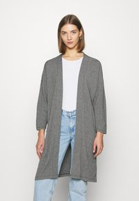 ONLY - ONLDIANA LONG CARDIGAN  - Cardigan - grey - 0