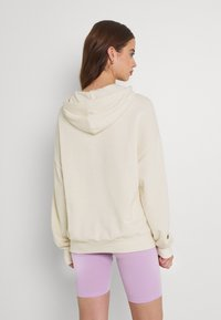 Even&Odd - LONG OVERSIZED HOODIE - Jersey con capucha - off-white - 2