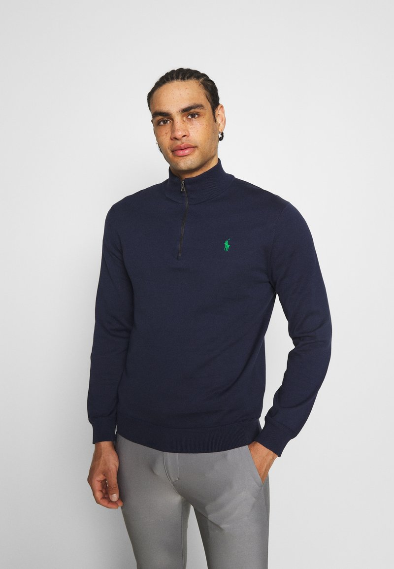 Polo Ralph Lauren Golf - LONG SLEEVE - Stickad tröja - french navy