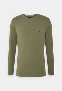 SLIM FIT TEE - Long sleeved top - green