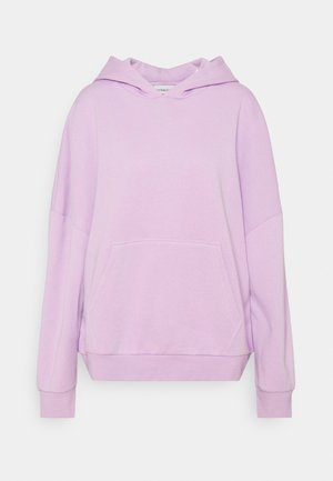 LONG OVERSIZED HOODIE - Jersey con capucha - lilac