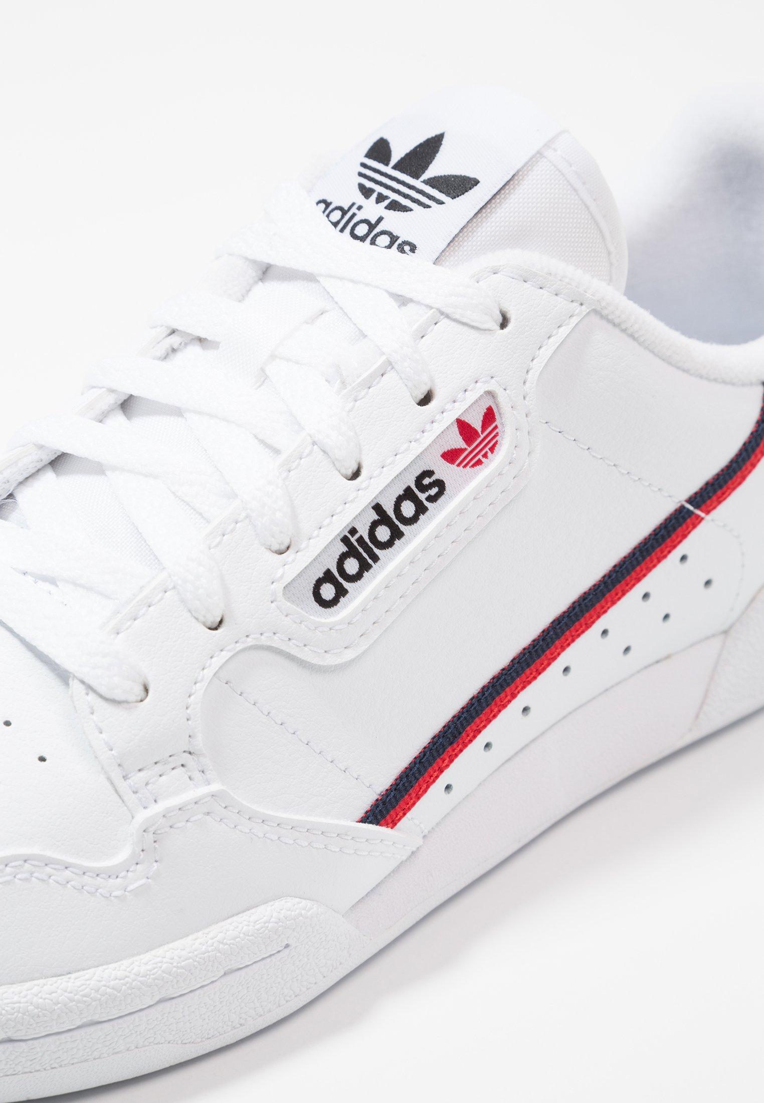 CONTINENTAL 80 - Baskets basses - footwear white/scarlet/collegiate navy