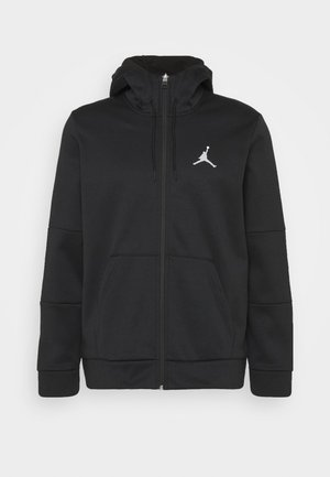 AIR THERMA FULL ZIP - Fleece jacket - black