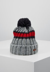 Barts - DARRIN BEANIE - Čepice - heather grey - 0