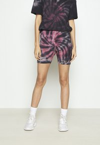 Missguided - COORD AND CYCLE TIE DYE SET - Shorts - pink - 4