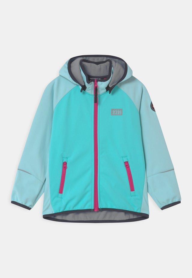 SKY UNISEX - Soft shell jacket - mint