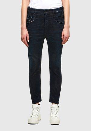 FAYZA  - Straight leg jeans - dark blue