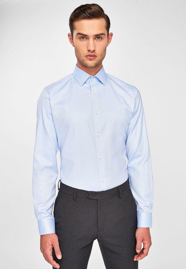 SLIM FIT - Formal shirt - mottled blue