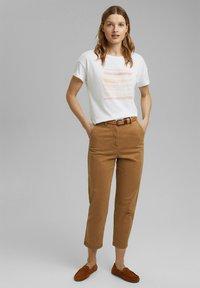 Esprit - Print T-shirt - white colorway - 1