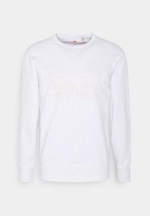 GRAPHIC CREW UNISEX - Sweatshirt - white