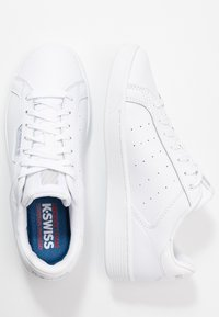 K-SWISS - CLEAN COURT CMF - Sneakers laag - white/gull gray - 5