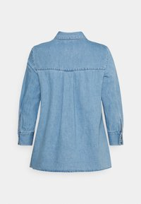 ONLY Petite - ONLMARY CANBERRA AUTHENTIC - Button-down blouse - medium blue denim - 1