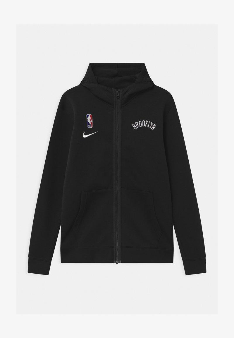 Nike Performance - NBA BROOKLYN NETS SPOTLIGHT UNISEX - Klubové oblečení - black