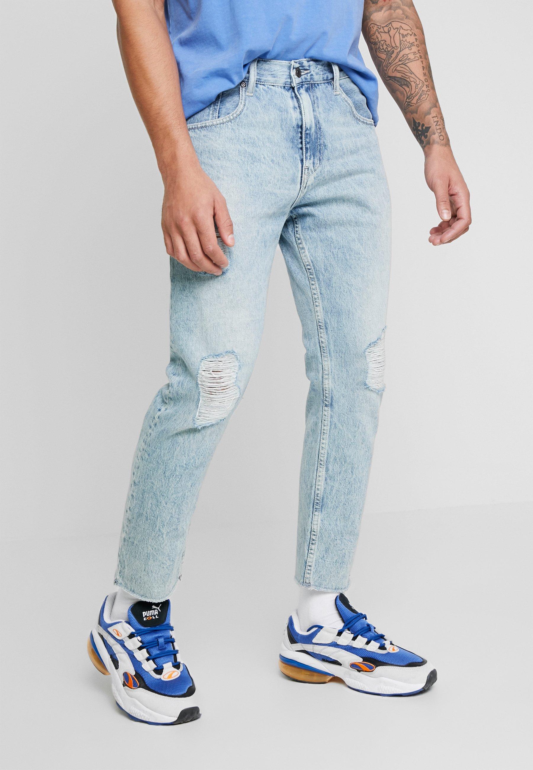 Erittäin Miesten vaatteet Sarja dfKJIUp97454sfGHYHD Quiksilver Straight leg -farkut blue