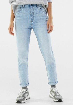 MOM FIT JEANS - Jean boyfriend - blue denim