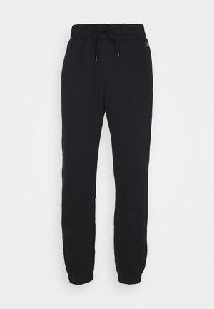 RELAXED JOGGER - Pantalones deportivos - black
