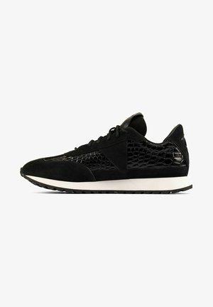 Sneakers laag - black croc