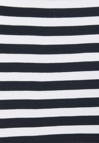 MY TRUE ME TOM TAILOR - OTTOMAN STRIPED - Long sleeved top - navy white regular stripe - 2