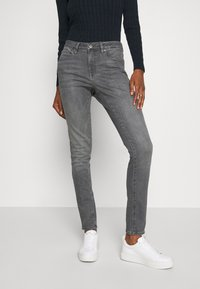 Opus - ELMA FOGGY - Slim fit jeans - soft mid grey - 0