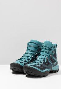 Mammut - DUCAN HIGH GTX WOMEN - Hiking shoes - dark waters - 2