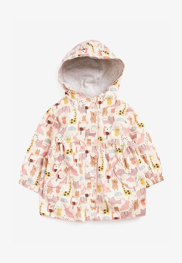 CHARACTER - Lehká bunda - pink