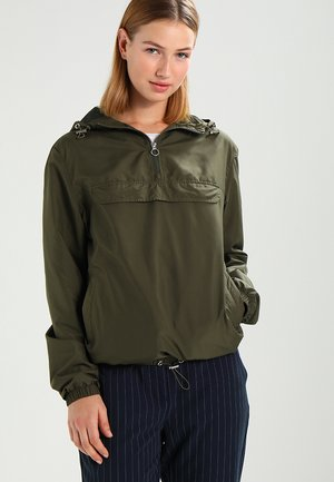 LADIES BASIC  - Větrovka - dark olive
