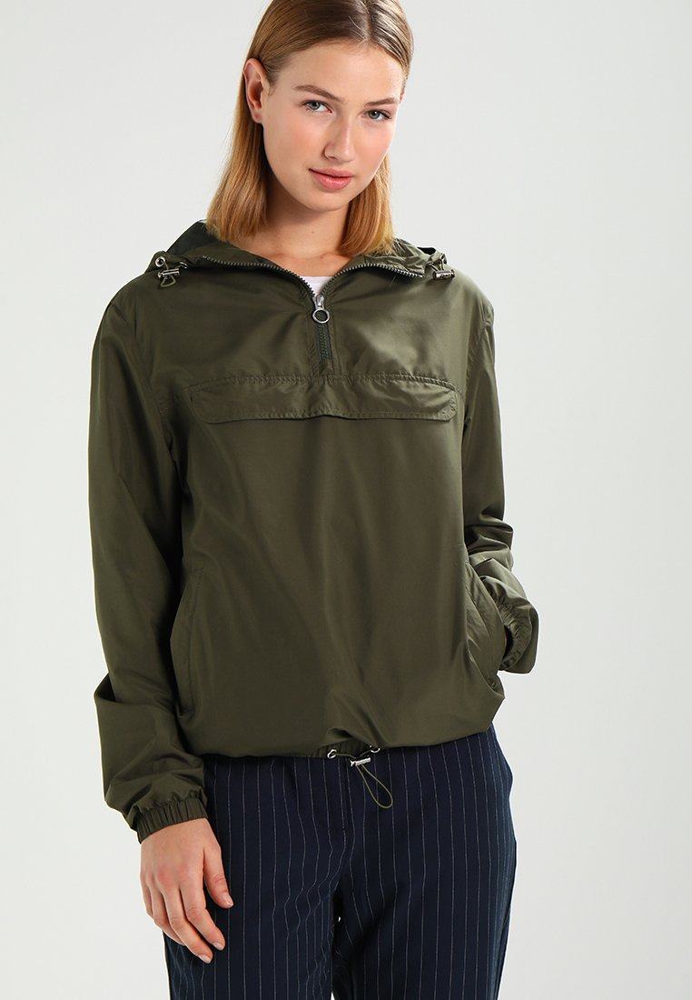 Urban Classics - Windbreaker - dark olive