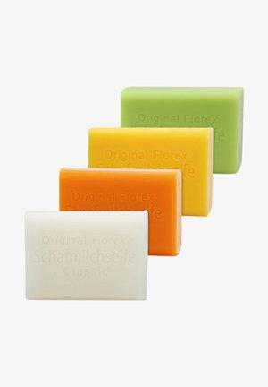 CLASSIC-PROPOLIS-HONIG-BIRKE  + LUFFA ABLAGE  - Soap bar - -