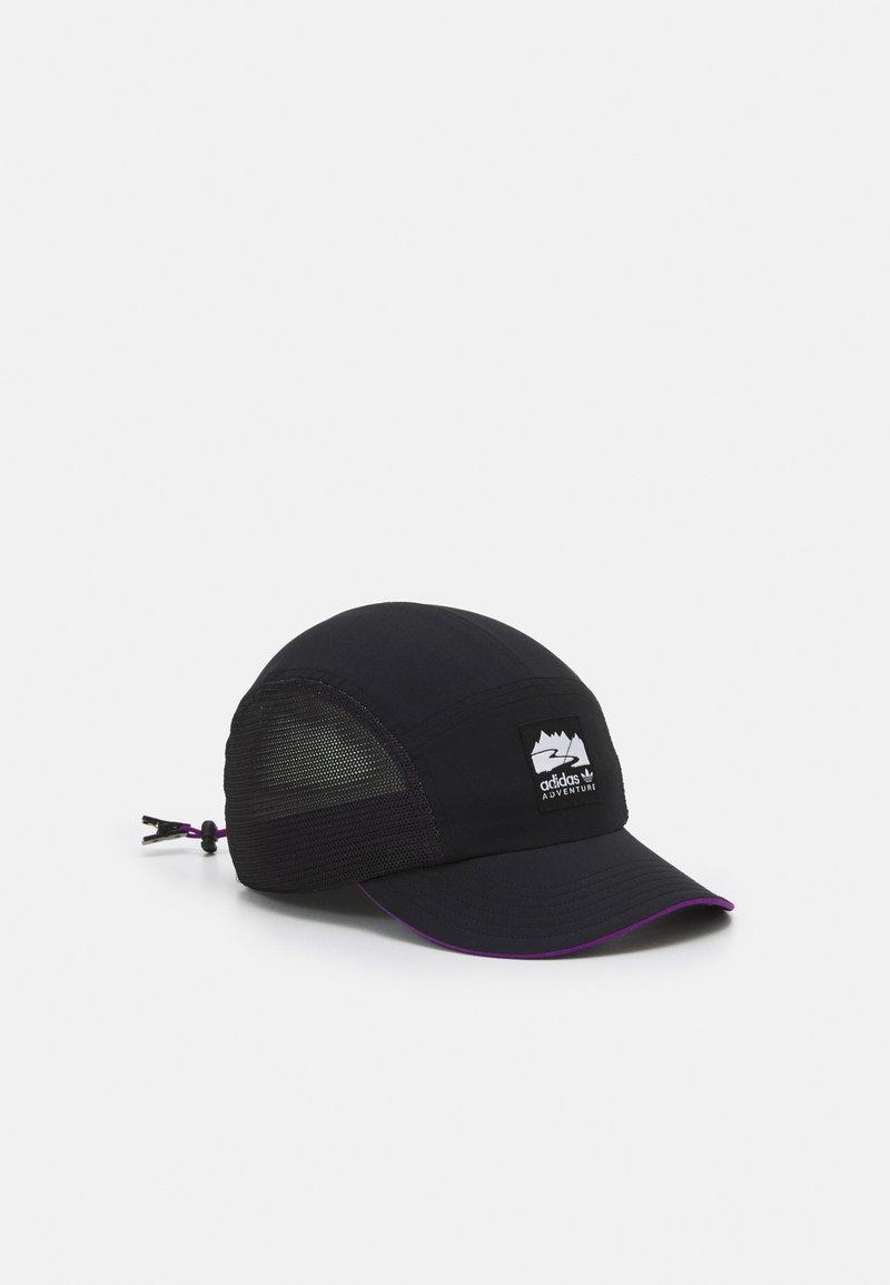adidas Originals - RUNNERS UNISEX - Cap - black/glory purple