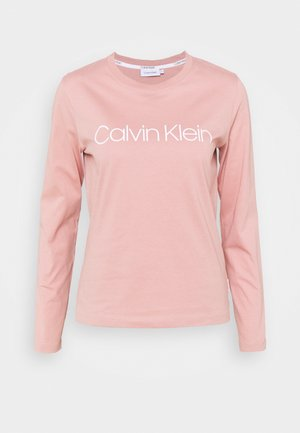 CORE LOGO CREW TEE - Long sleeved top - muted pink