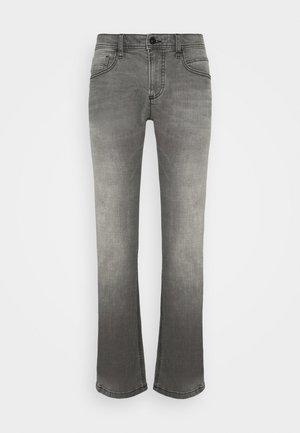 REGULAR - Straight leg -farkut - grey denim