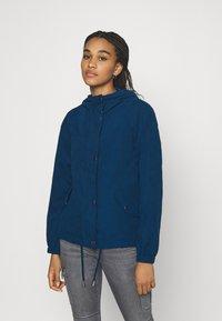 JDY - JDYNEWHAZEL SHINE JACKET - Summer jacket - poseidon - 0
