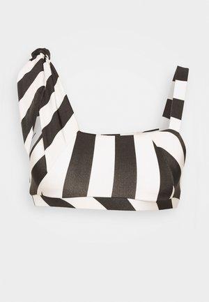 JONELLE - Haut de bikini - black/white