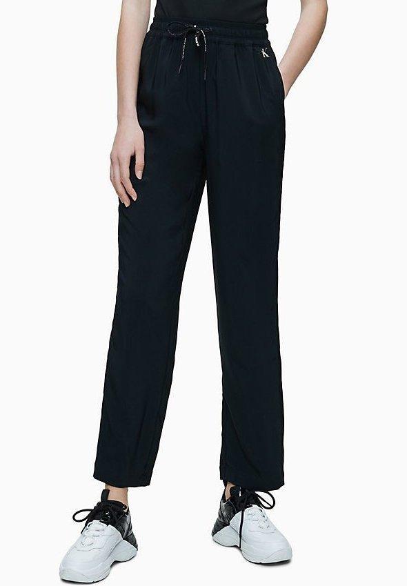 DRAPEY - Pantaloni - black