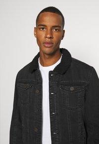 Blend - OUTERWEAR - Denim jacket - denim black - 4