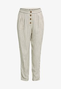 Esprit - PLEATED PANTS - Trousers - sand - 6