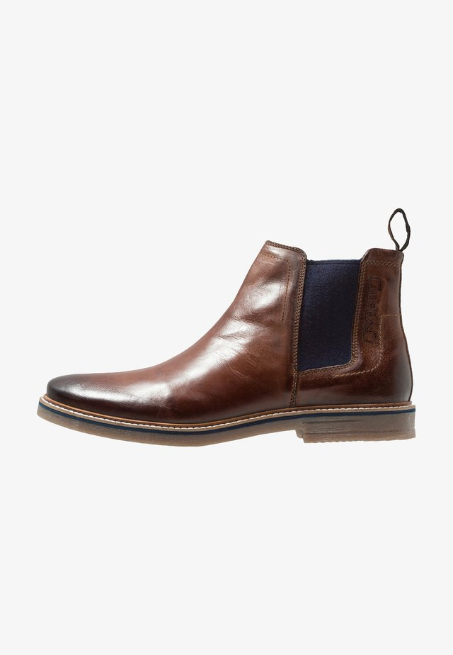 VANDO - Bottines - cognac