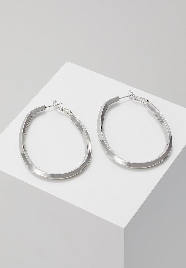 CREOLEN TETJE - Kolczyki - silver-coloured