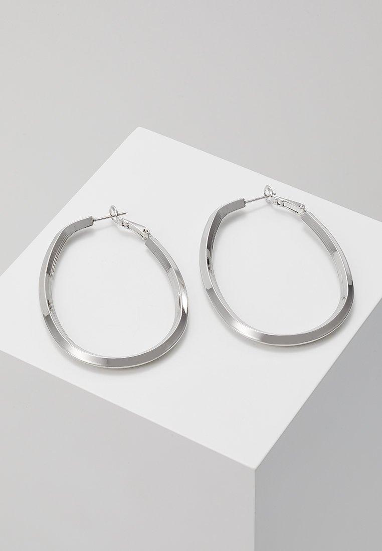 sweet deluxe - CREOLEN TETJE - Øredobber - silver-coloured