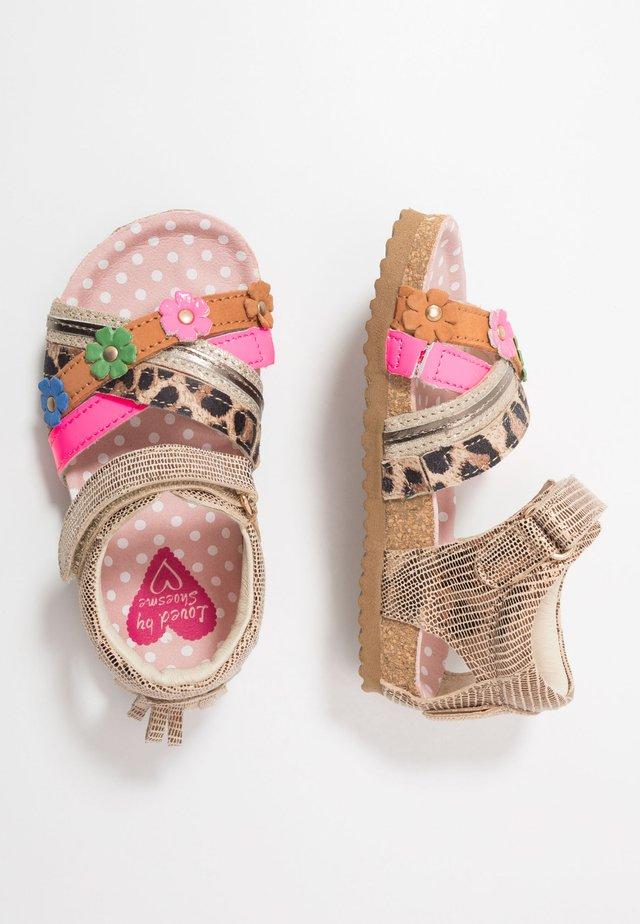 BIO - Sandales - bronce