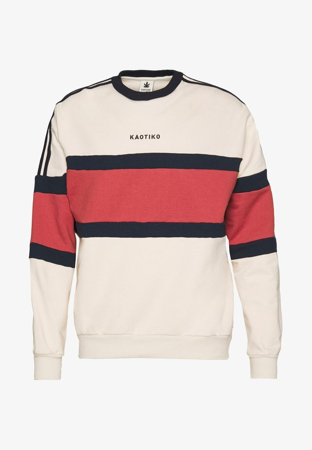 CREW EMORY CRUDO - Sweatshirt - off white