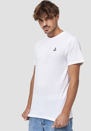 ANKER - T-shirt basic - weiß