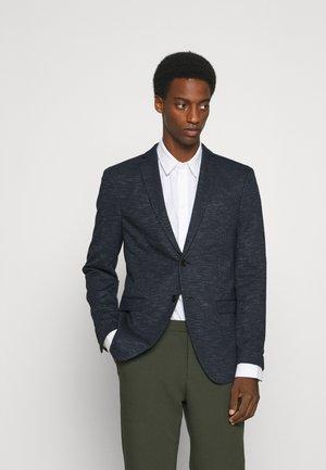 SLHSLIM CHUCK - Blazer jacket - medium blue melange