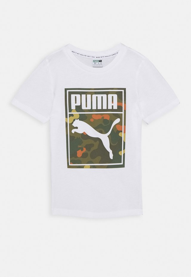CLASSICS GRAPHICS TEE - T-shirts med print - white