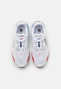 Puma - BMW MMS RS-FAST UNISEX - Trainers - white/marina/high risk red - 3